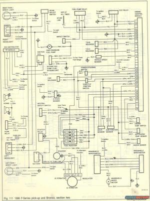 1986 Ford Bronco Wiring Diagrams picture | SuperMotors