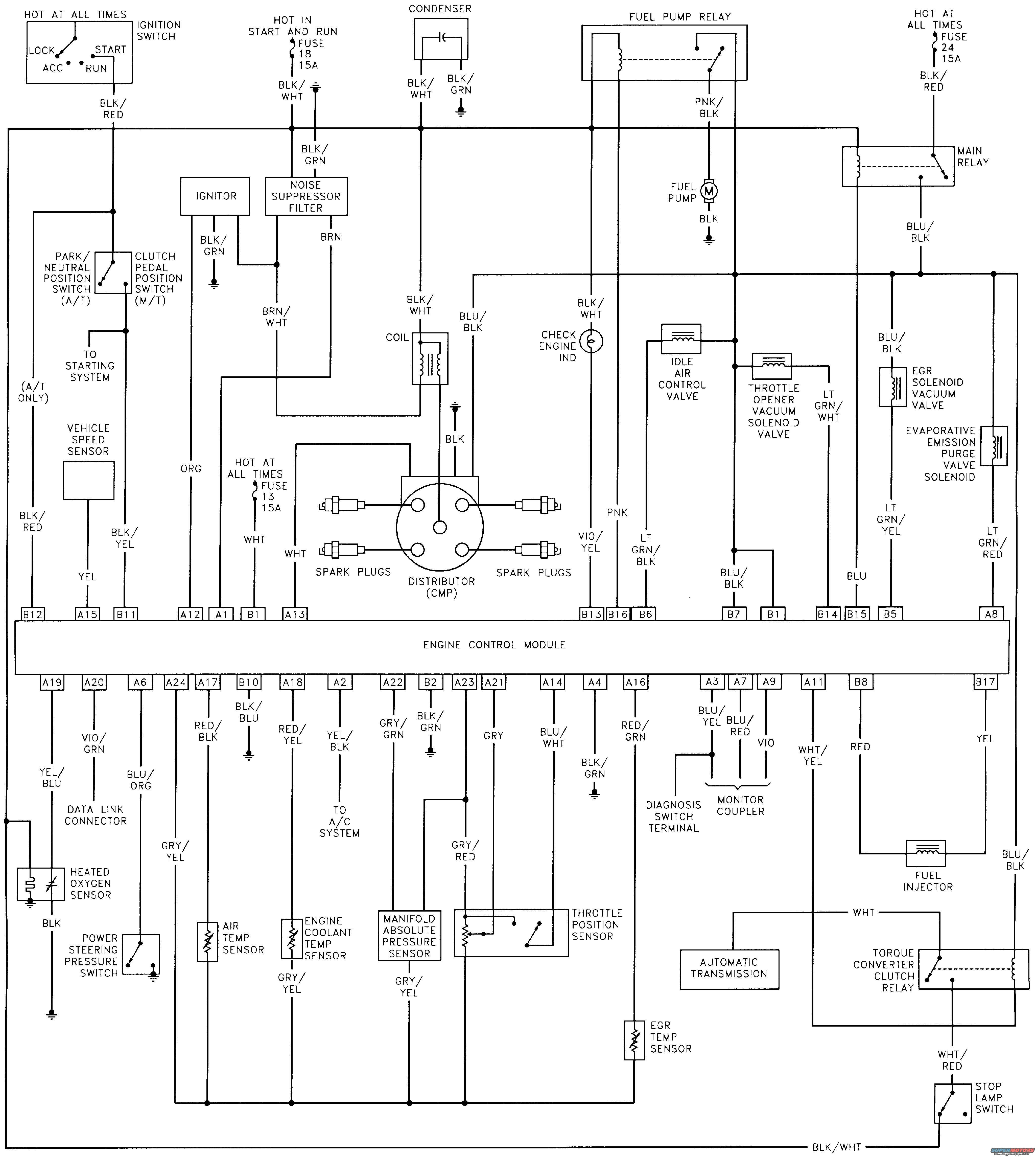 Daewoo Lano Engine Wiring Diagram