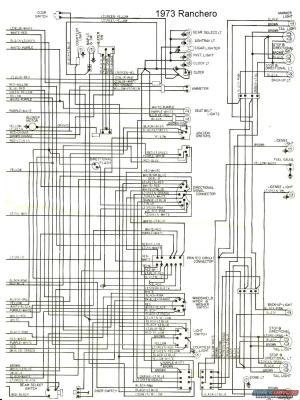 1973 Ford Ranchero Wiring Diagram | The Site Share Images