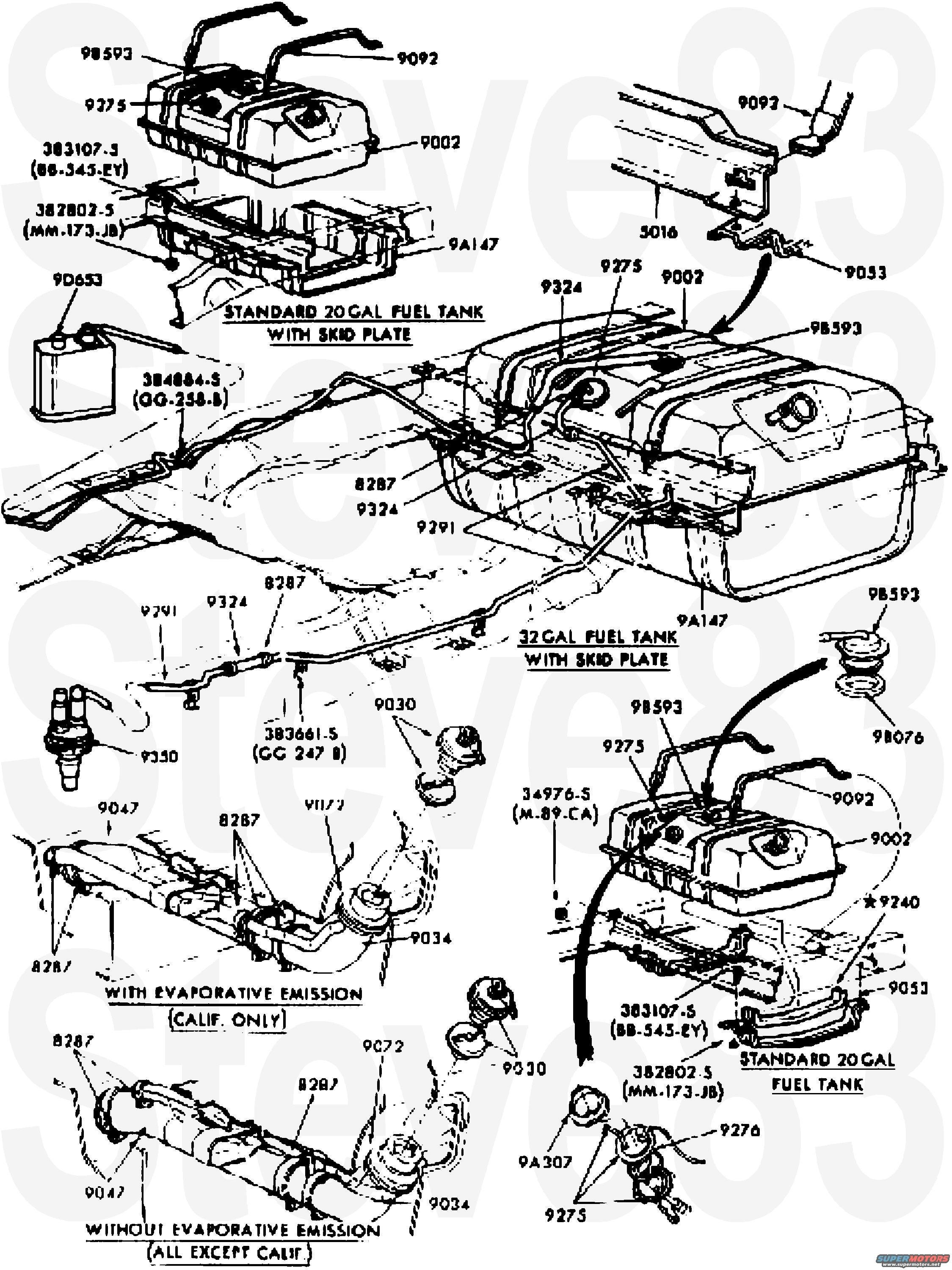 Ford Bronco Engine Diagram