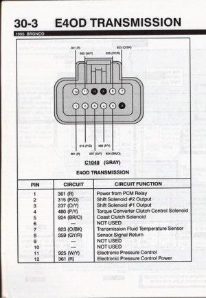 E4OD TOT sensor  Ford Bronco Forum