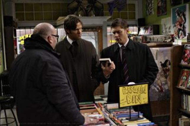 Image result for supernatural the monster at the end of the book