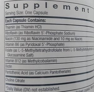 b-vitamins nootropic