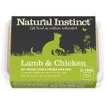 Natural Instinct Lamb and Chicken Cat Food 2 x 500g Tub