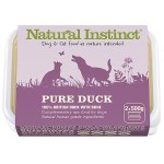 Natural Instinct Pure Duck 2 x 500g Tub