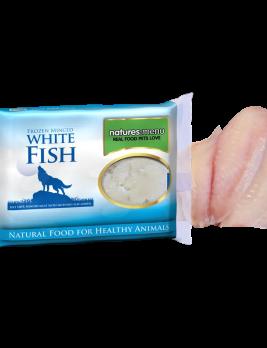 Natures Menu White Fish 400g Block