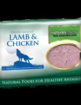 Natures Menu Lamb and Chicken 400g block