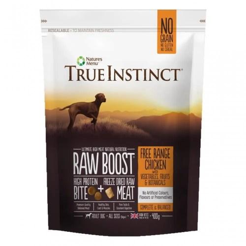 True Instinct Raw Boost Dog Chicken 400g Pack