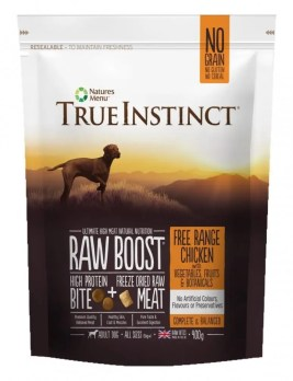 True Instinct Raw Boost Dog Chicken 400g Pack