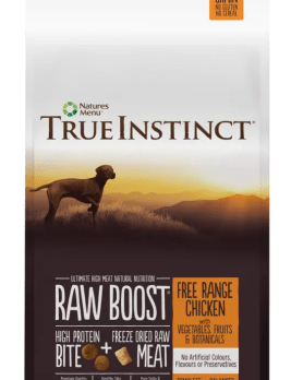 True Instinct raw Boost Dog Chicken 5kg Bag