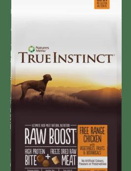 True Instinct raw Boost Dog Chicken 5kg Bag