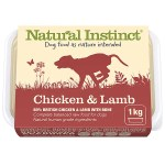 Natural Instinct Chicken & Lamb 1kg Tub