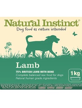 Natural Instinct Lamb 1kg Tub