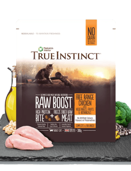 True Instinct Raw Boost Cat Food 300g Bag