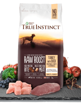 True Instinct Raw Boost Dog Turkey and Duck Bag