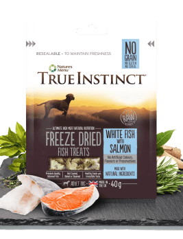 True Istinct Freeze Dried Treats Salmon 40g Bag
