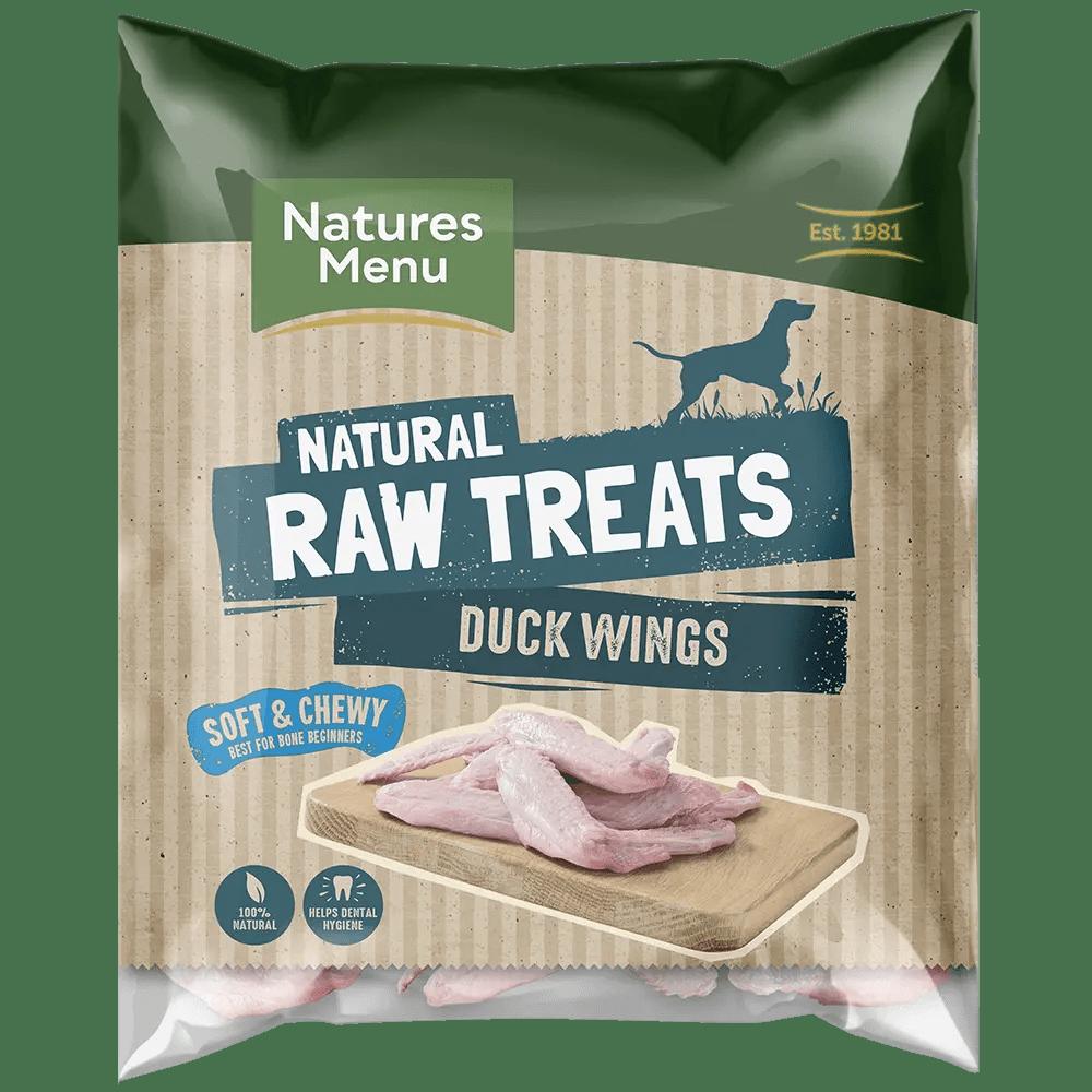 Natures Menu Raw Duck Wings Bag