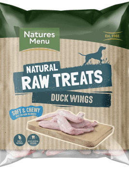 Natures Menu Raw Duck Wings Bag