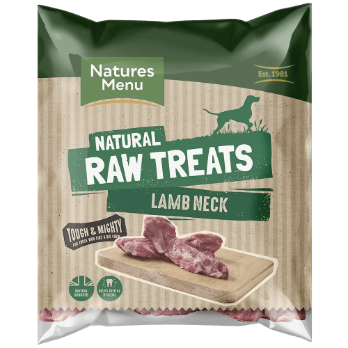 Natures Menu Raw Lamb Neck Bag