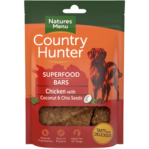 Country Hunter Superfood Bars Chicken 100g Pack