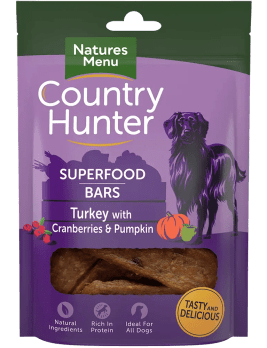 Country Hunter Superfood Bars Turkey 100g Pack