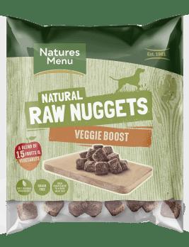 Natures Menu Veggie Boost Nuggets 1kg Bag