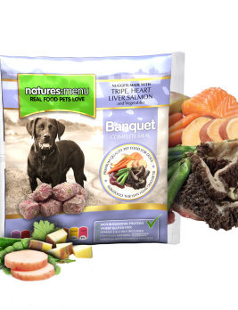 Natures Menu Original Raw Nuggets Banquet Dinner 1kg Bag