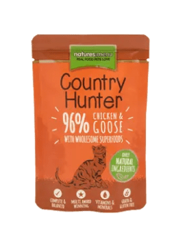 Country Hunter Cat Chicken and Goose 85g Pouch