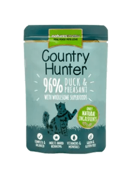 Country Hunter Cat Duck 85g Pouch