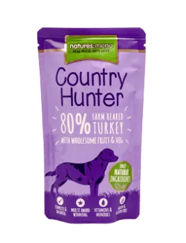 Country Hunter Dog Turkey 150g Pouch
