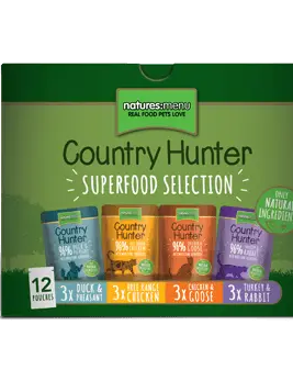 Country Hunter Cat Superfood Selection 12 x 85g Box