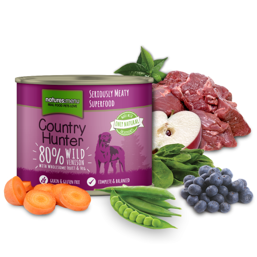 Country Hunter Wild Venison 600g Can