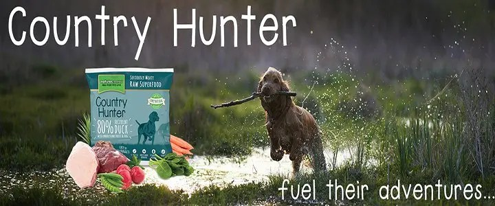 Country Hunter Dog Food Banner