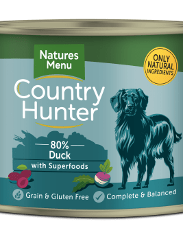 Country Hunter Dog Food Succulent Duck 600g Can Front