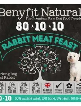 Benyfit Natural Rabbit Meat Feast