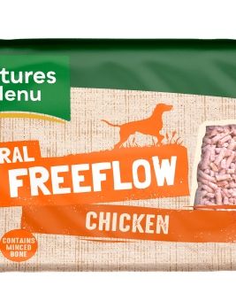 Natures Menu Freeflow Chicken 2kg Front of pack