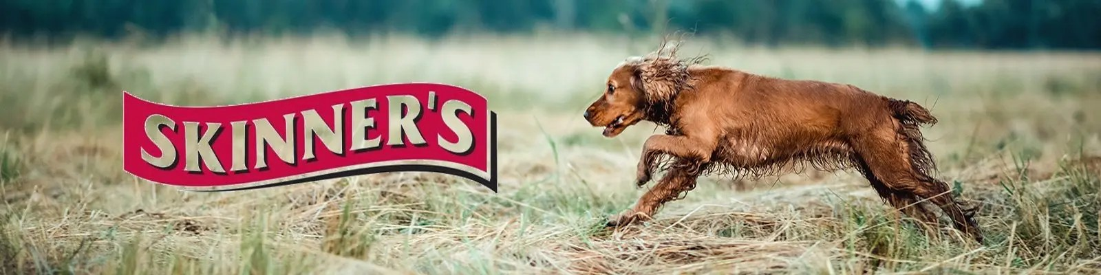 Skinners Dog Food Banner