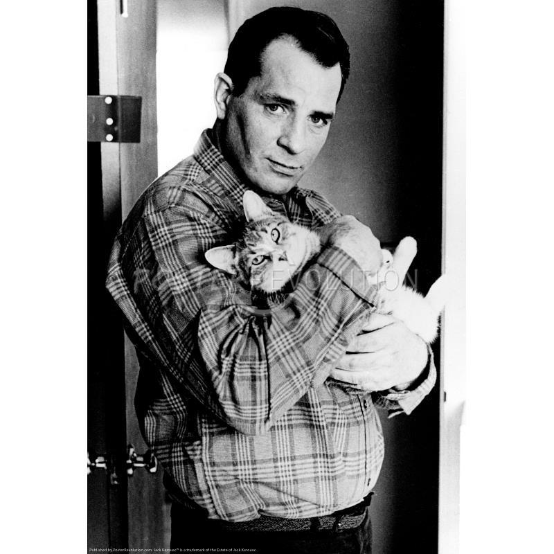 'Tyke' with Jack Kerouac