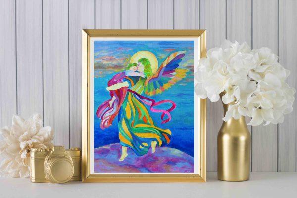 anioł plakat plakaty z aniołami obrazy aniołów-3