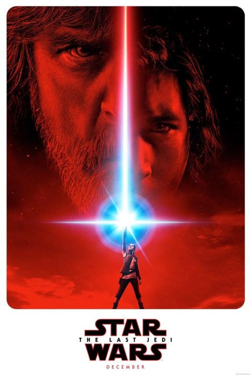 affiche Star Wars VIII : Les Derniers Jedi