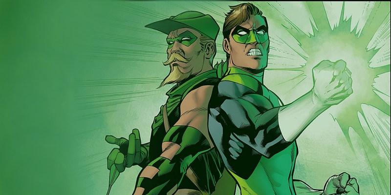 Green Lantern et Green Arrow dans Life is Perfect (La Vie est Belle) de Geoff Jones et Carlos Pacheco
