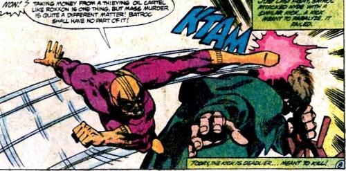 Batroc dans Captain America #252 - page 8