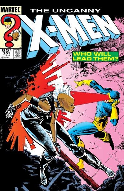 couverture Uncanny X-Men 201