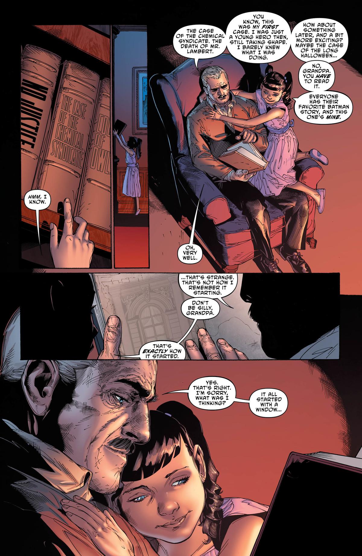 Batman: Lost #1