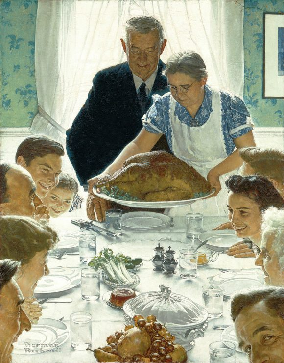Norman Rockwell - Freedom from Want (1949)