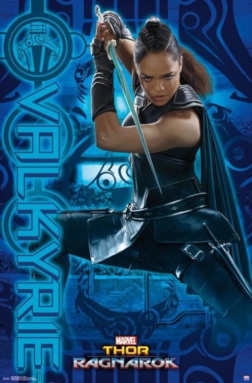 Valkyrie incarnée par Tessa Thompson dans Thor:Ragnarok