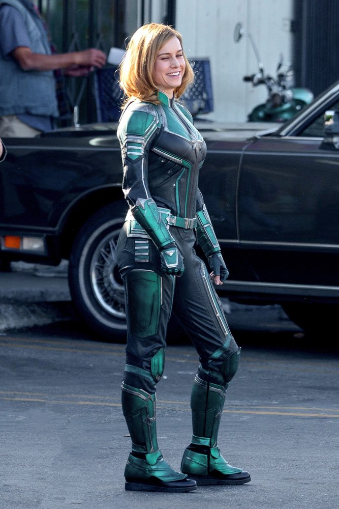 Brie Larson dans le rôle de Carole Denvers /Captain Marvel