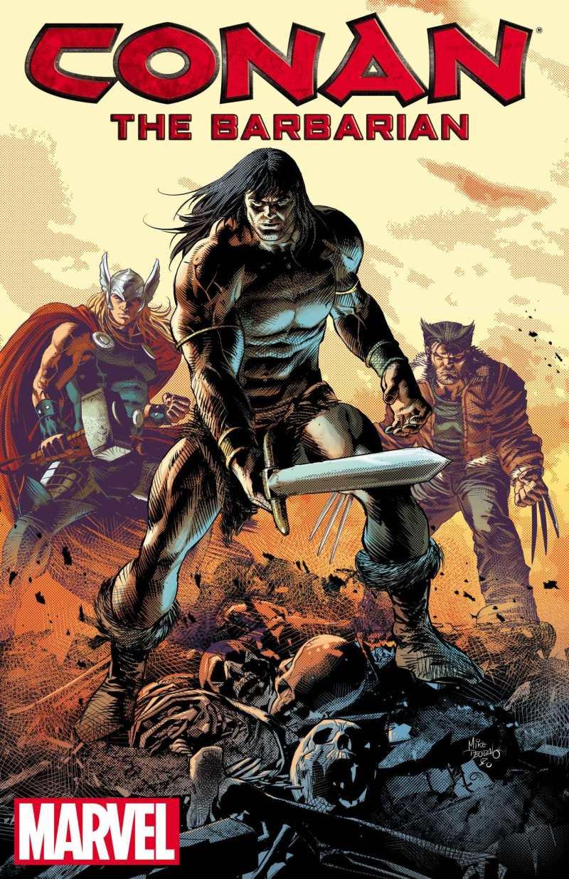 Conan the Barbarian par Mike Deodato Jr.