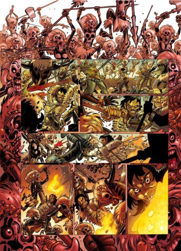 """Conan : """"La Reine de la Côte Noire"""" par Jean-David Morvan et Pierre Alary, chez Glénat"""