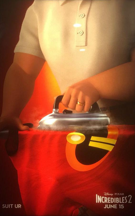 Les Indestructibles 2, l'affiche officielle